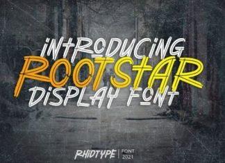 Rootstar Display Font