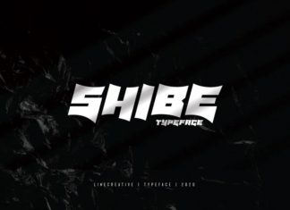Shibe Display Font