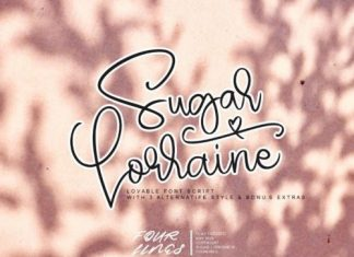 Sugar Lorraine Script Font