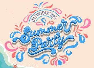 Summer Party Script Font