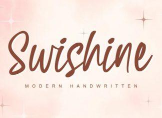 Swishine Handwritten Font
