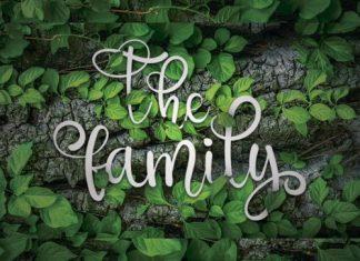 The Family Script Font
