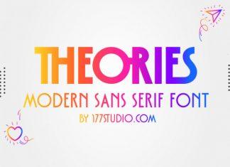 Theories Sans Serif Font