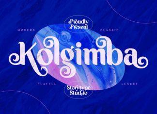 Kolgimba Sans Serif Font