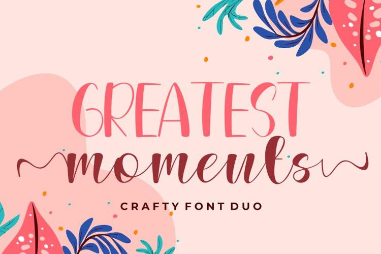 Greatest Moments Script Font