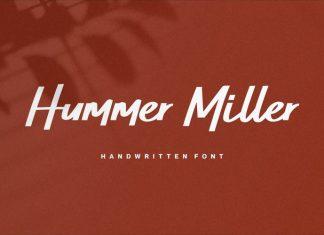 Hummer Miller Script Font
