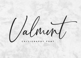 Valment Script Font