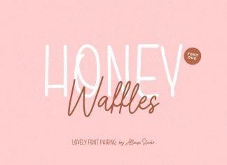 Honey Waffles Handwritten Font