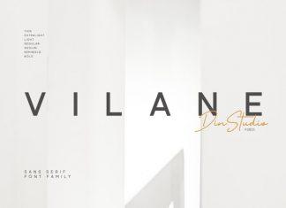 Vilane Sans Serif Font
