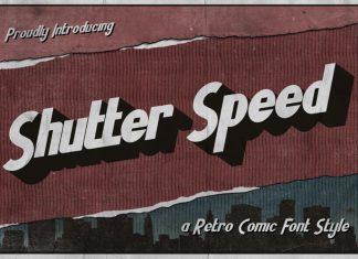 Shutter Speed Display Font