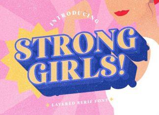 Strong Girls Serif Font