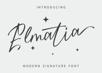 Elmatia Script Font