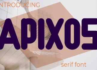 Apixos Display Font