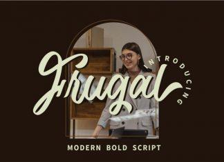 Frugal Script Font