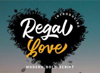 Regal Love Script Font
