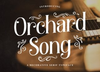 Orchard Song Serif Font