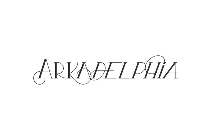 Arkadelphia Display Font