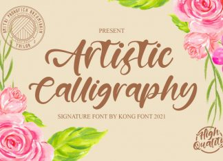 Artistic Calligraphy Font