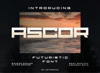 Ascor Display Font