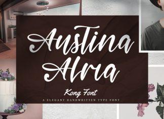 Austina Alma Script Font