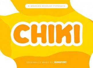 Chiki Display Font