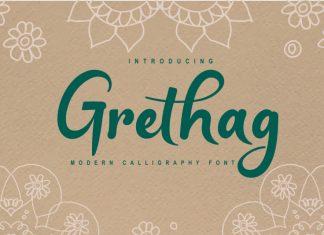 Grethag Script Font
