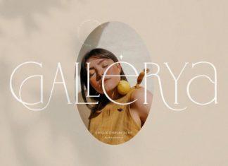Gallerya Serif Font