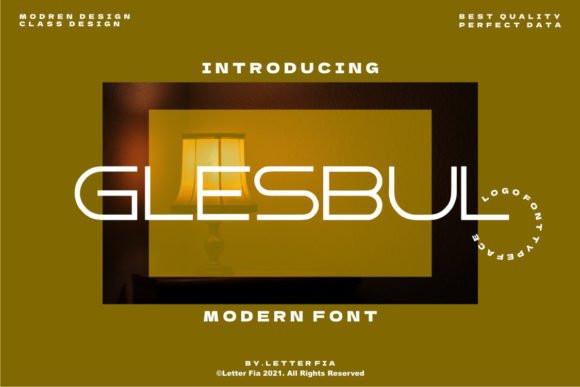Glesbul Display Font