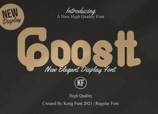 Goostt Display Font