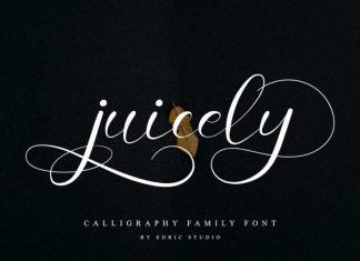 Juicely Script Font