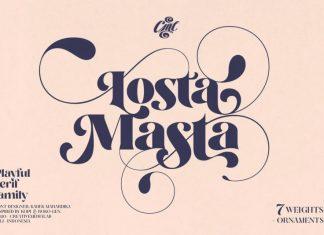 Losta Masta Serif Font