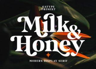 Milk and Honey Serif Font