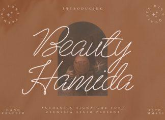 Beau Hamida Handwritten Font