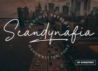 Scandynafia Script Font