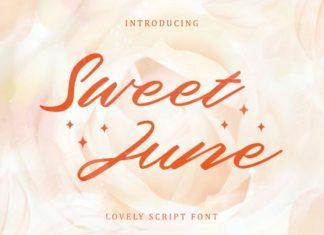 Sweet June Script Font