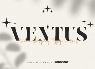Ventus Display Font
