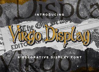 Virgo Display Font