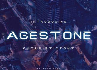 Agestoned Display Font