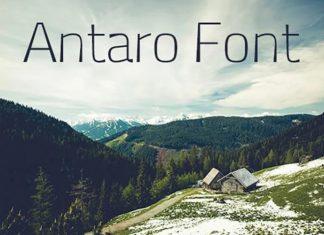 Antaro Serif Font
