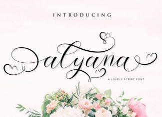 Alyana Calligraphy Font