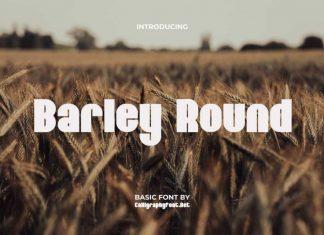 Barley Round Sans Serif Font