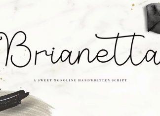 Brianetta Handwritten Font