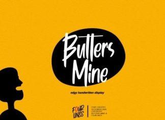 Butters Mine Script Font