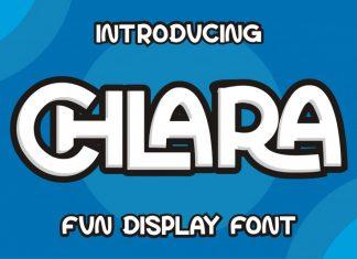 Chlara Display Font
