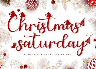 Christmas Saturday Script Font