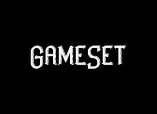 GameSet Display Font