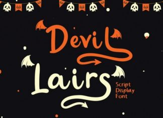 Devil Lairs Display Font