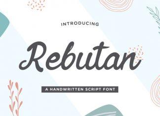Rebutan Script Font