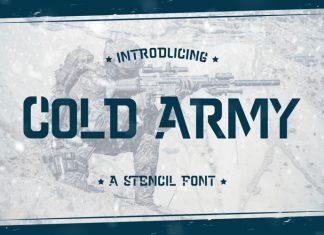 Cold Army Sans Serif Font