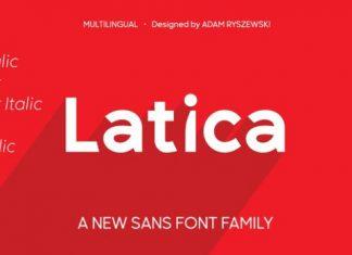 Latica Sans Serif Font